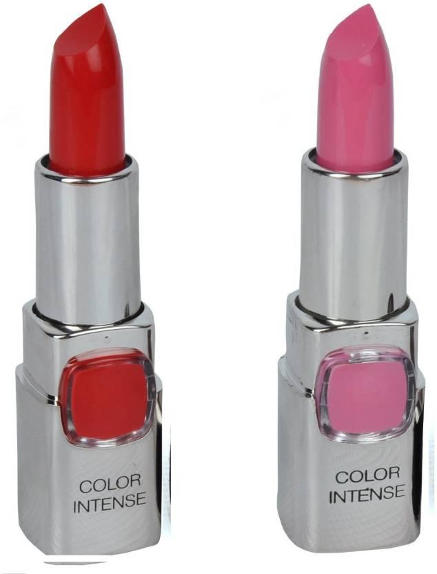 7 Heaven S Color Intense Lipstick Neon Pink 406 Peach 605 Shade 101 403