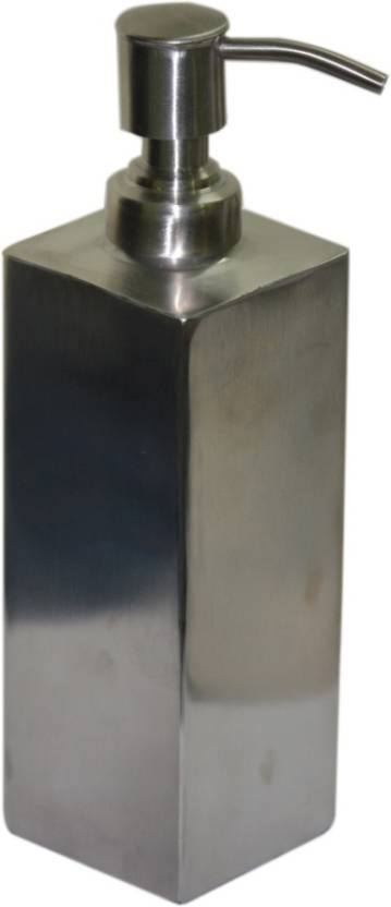 Sens Square Matte Finish Stainless Steel 500 ml Soap Dispenser