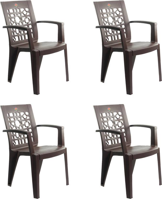 Cello Plastic Living Room Chair Finish Color Ice Brown