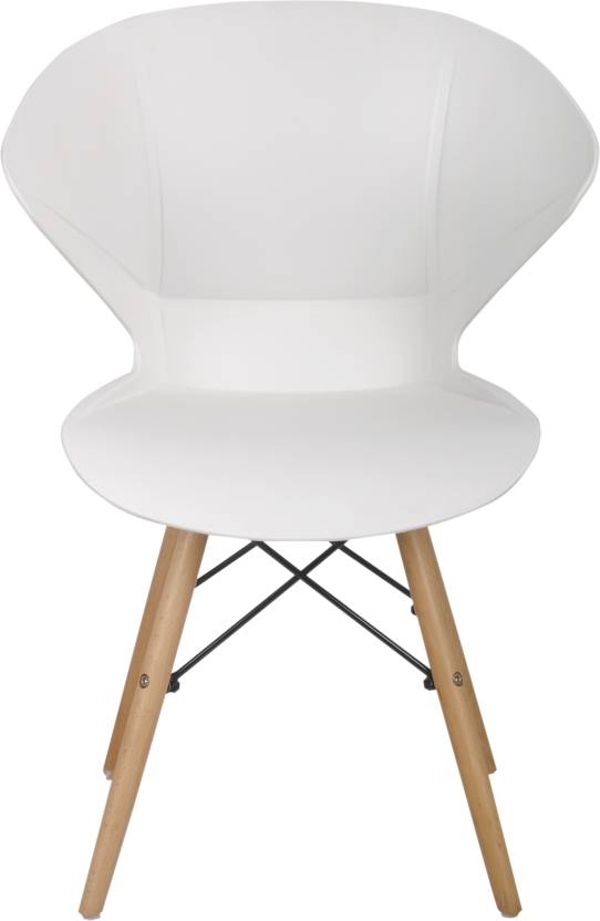 Bharat Furniture Frog Plastic Outdoor Chair Finish Color   White