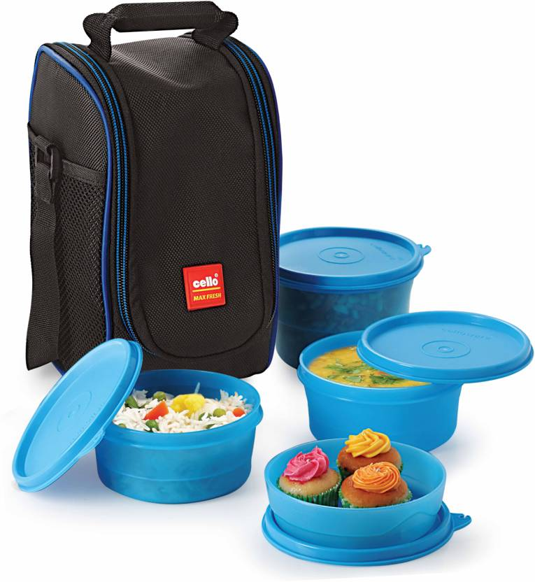 Cello Max Fresh 4 Containers Lunch Box 550 ml
