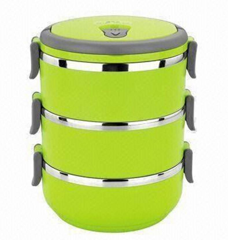 Hengli 3 Layer 3 Containers Lunch Box (2100 ml)