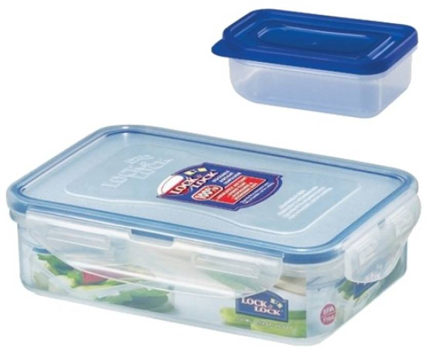Lock & Lock HPL 815L 2 Containers Lunch Box