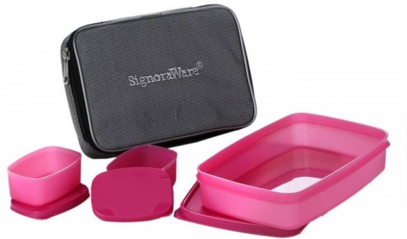 Signoraware M515 3 Containers Lunch Box 1050 ml
