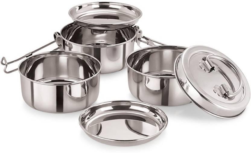 e60062fdff Neelam Stainless Steel Tiffin Plate