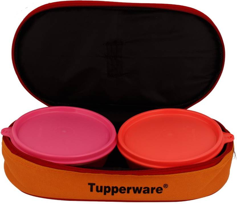 Tupperware Buddy bag set of 2  300 ml each  2 Containers Lunch Box 600 ml