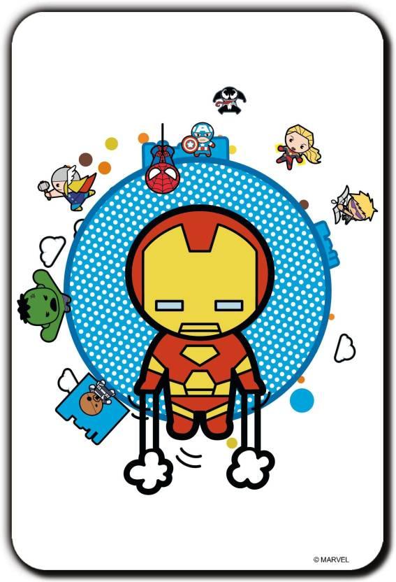 f21e920c7 Marvel Kawaii- avengers (Officially Licensed) Fridge Magnet Pack of 1  (Multicolor)