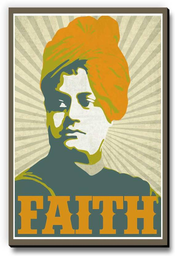 Seven Rays Vivekananda Faith Fridge Magnet  (Pack of 1, Multicolor)