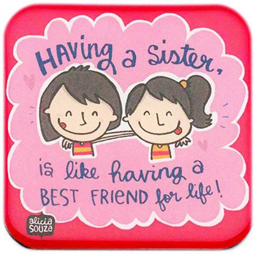 f8ca6221 Alicia Souza Sisters Fridge Magnet Pack of 1 Price in India - Buy Alicia  Souza Sisters Fridge Magnet Pack of 1 online at Flipkart.com