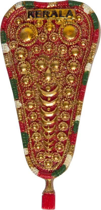 Temple Trees Kerala Elephant Decoration Fridge Magnet Pack Of 1