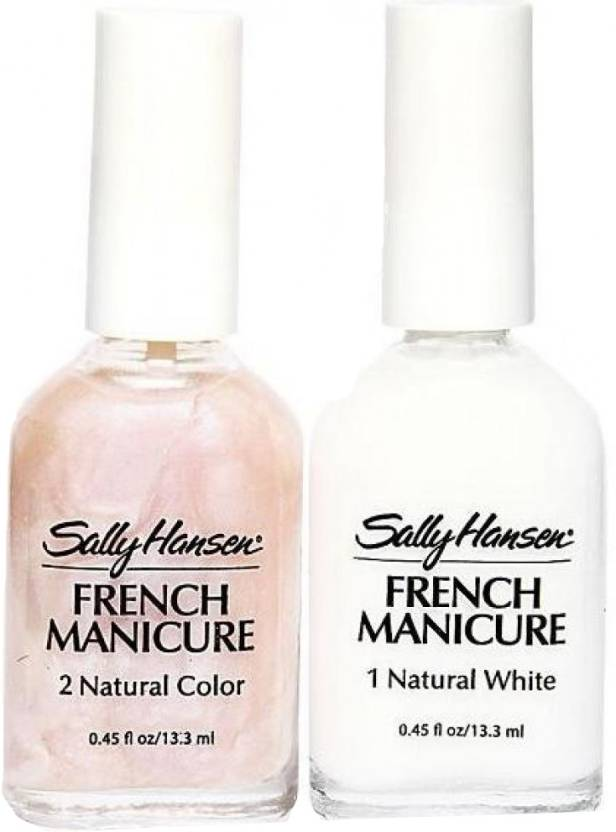 Sally Hansen French Manicure Kit - Sheerly Opal - Price in India ...