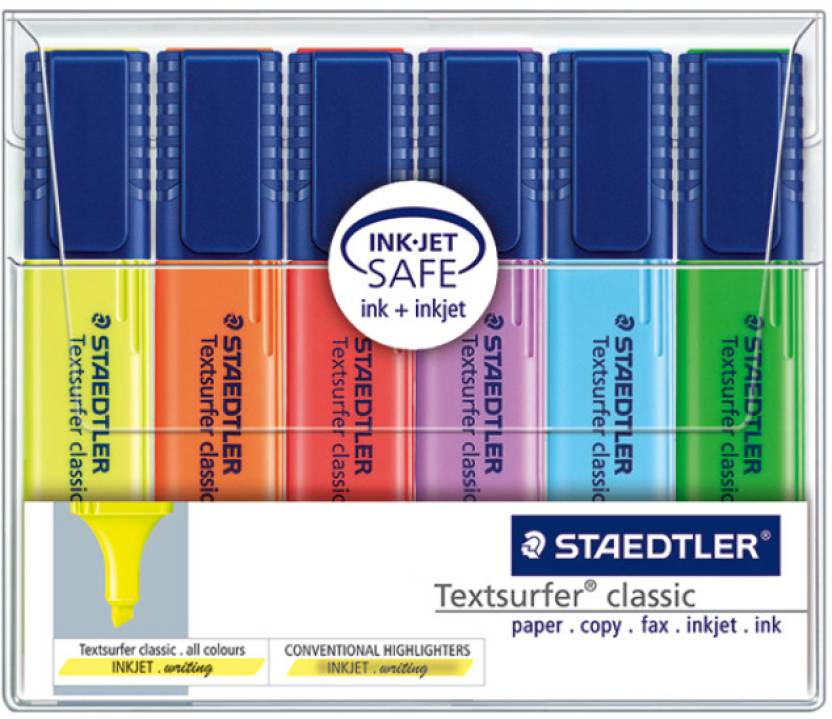 Staedtler Chisel Tip Highlighter Pen