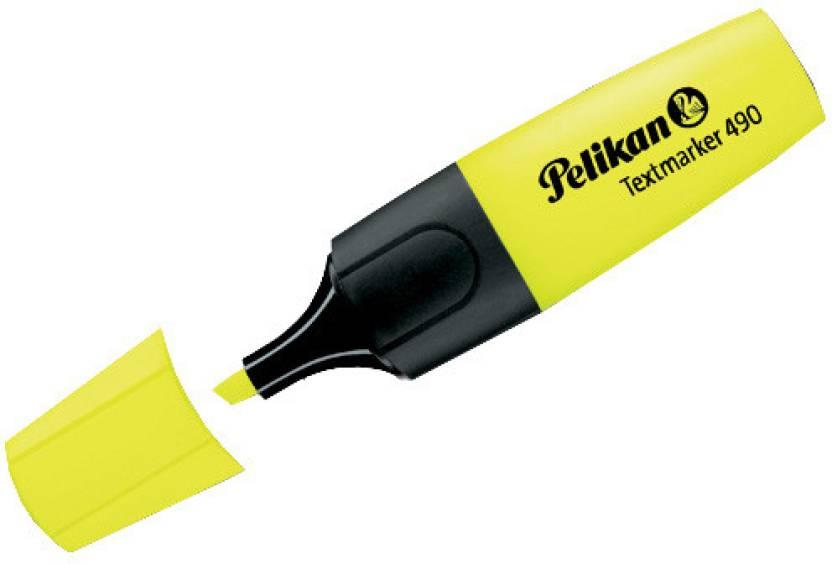 Pelikan 490 Fluor Chisel Tip Highlighter Pens