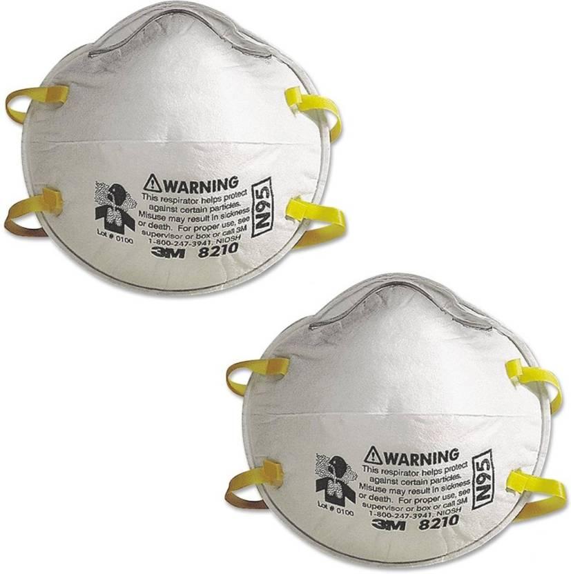 Mask Swine Flu N95 And Pack Respirator Arex Of 2 3m 8210