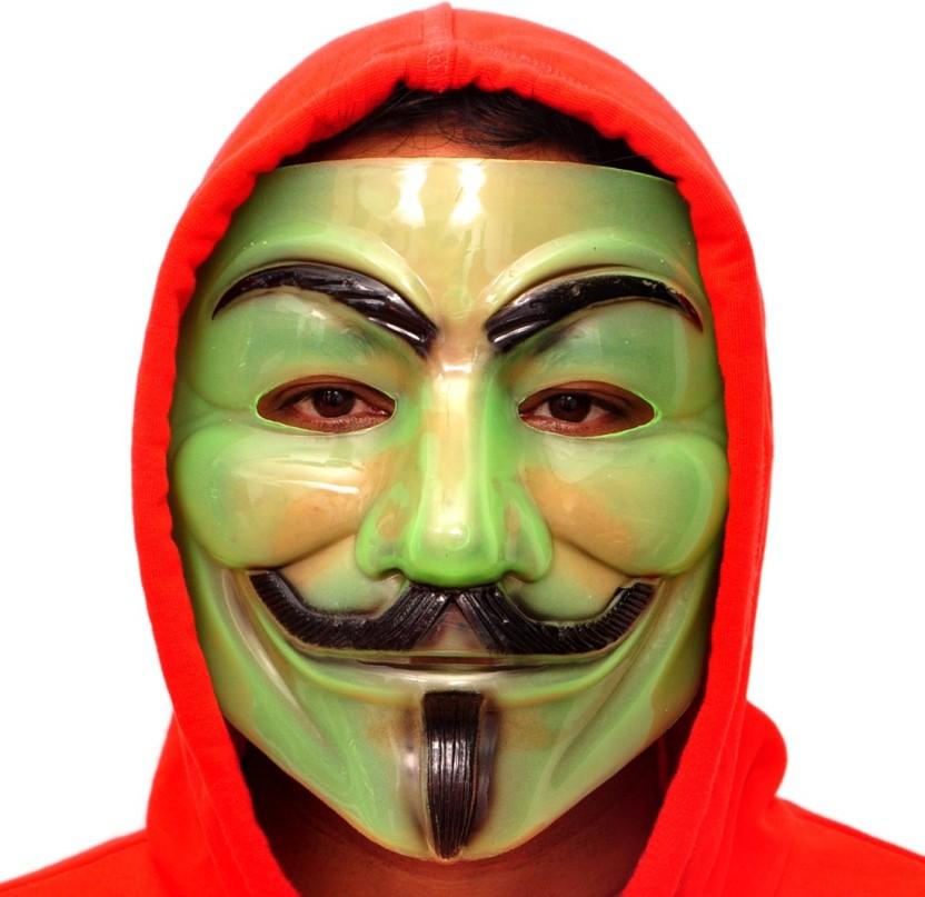Fancy Steps Radium V for Vendetta Comic Face Anonymous Guy Fawkes Party Mask  sc 1 st  Flipkart & Fancy Steps Radium V for Vendetta Comic Face Anonymous Guy Fawkes ...