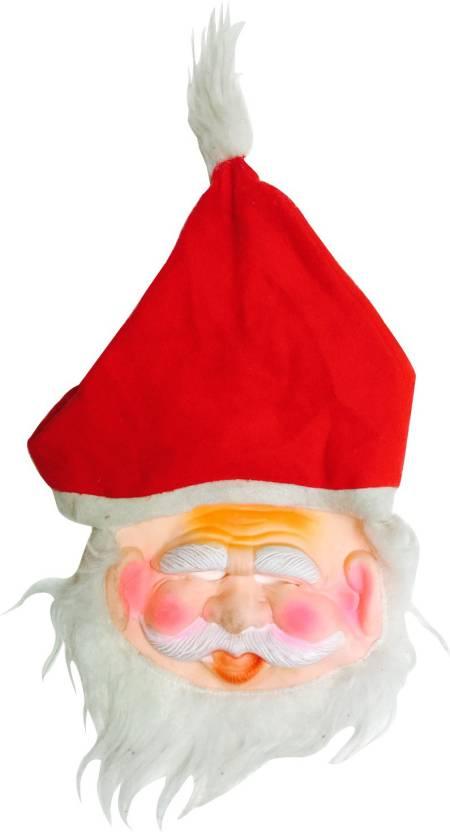 855b38c0d1b87 Priyankish Santa Claus with Red Cap Party Mask Price in India - Buy ...