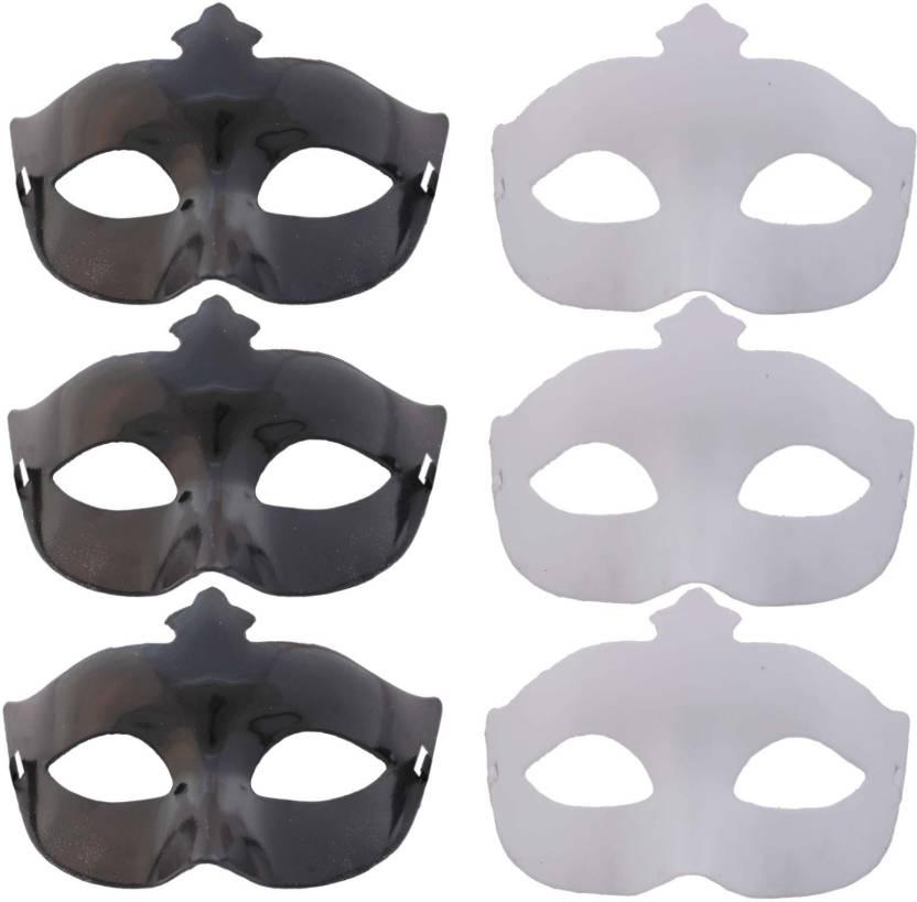 Carnival Halloween Theme.Tootpado Set Of 6 Carnival Eye Masks For Halloween Theme
