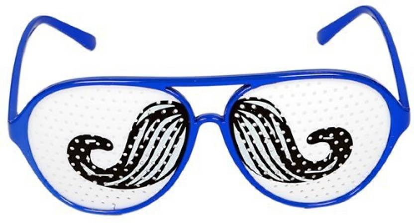 b3350acdf8 Funcart Moustache Pinhole Glasses Party Mask Price in India - Buy ...