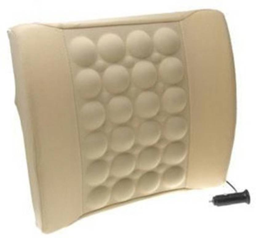 Gadget Bucket 1172015 Vibrating Car Back Seat Cushion For Relaxation
