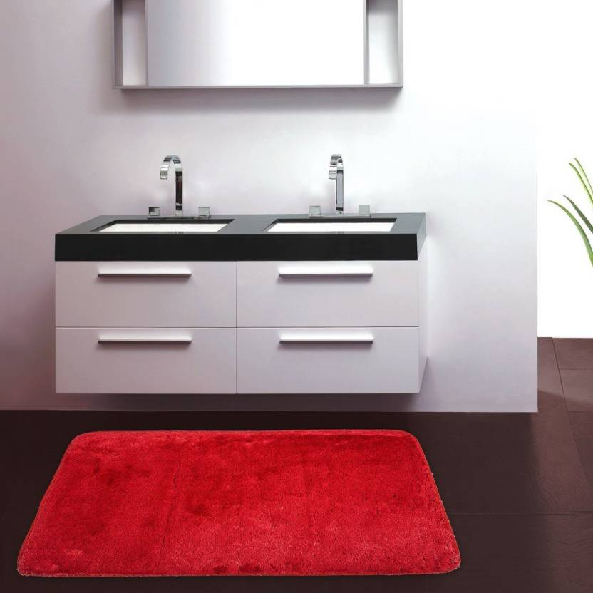 Cortina Cotton Bathroom Mat Multicolor, Large