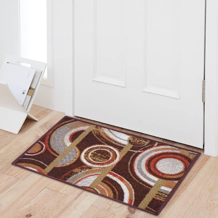 Status Nylon Door Mat Multicolor, Small