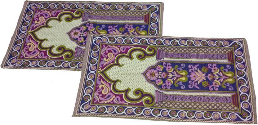 Mangal Organic Cotton Prayer Mat set of 2