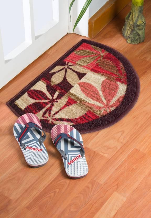 Status Nylon Door Mat  (Multicolor, Medium)