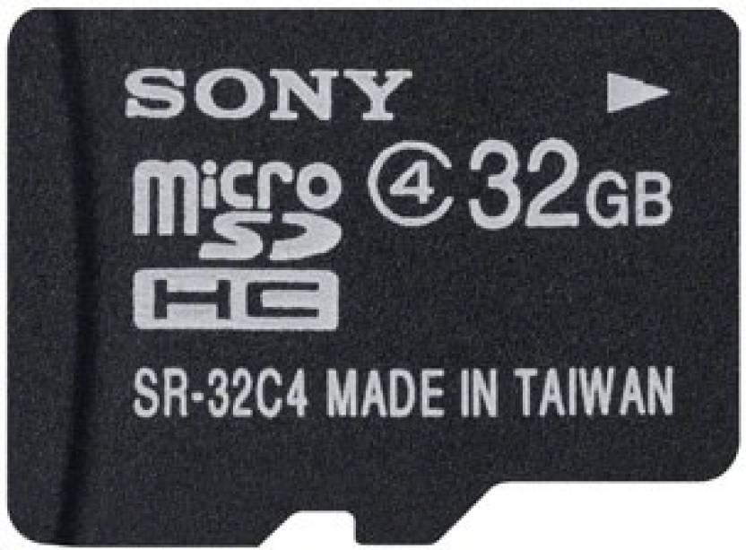 Sony 32 Gb Sdhc Class 4 Memory Card Sony Flipkart Com