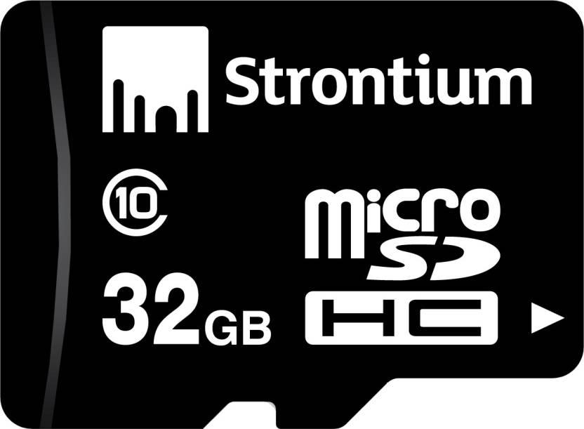 Strontium 32 GB MicroSD Card Class 10 24 MB/s  Memory Card