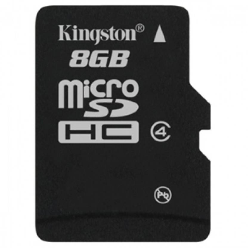 Kingston 8  GB MicroSD Card Class 4 4 MB/s Memory Card available at Flipkart for Rs.362