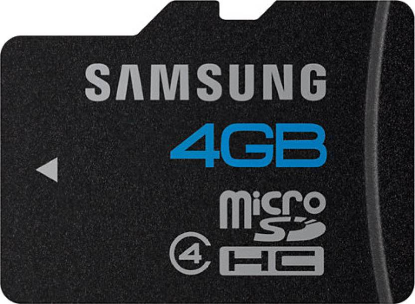 Samsung 4  GB MicroSD Card Class 4 15 MB/s Memory Card available at Flipkart for Rs.249