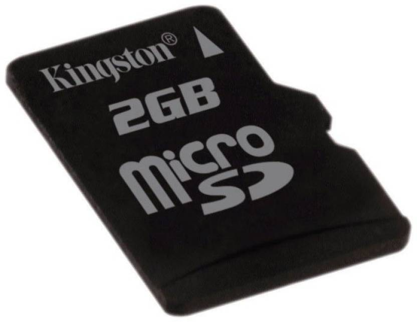 Kingston 2 GB MicroSD Card  Memory Card
