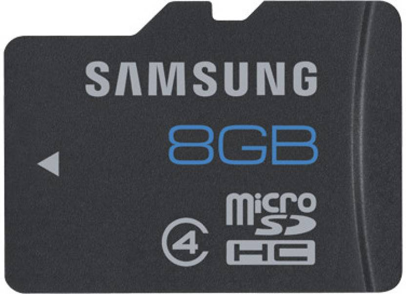 Samsung 8  GB MicroSDHC Class 4 24 MB/s Memory Card Samsung 8  GB MicroSDHC Class 4 24 MB s Memory Card Samsung 8  GB MicroSDHC Class 4 24 MBs Memory Car available at Flipkart for Rs.99