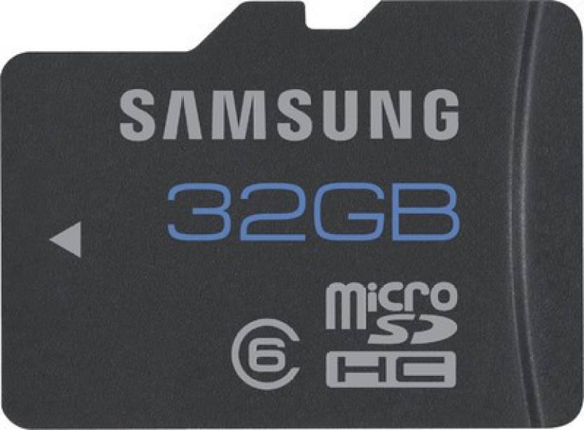 Samsung 32 GB MicroSDHC Class 6  Memory Card