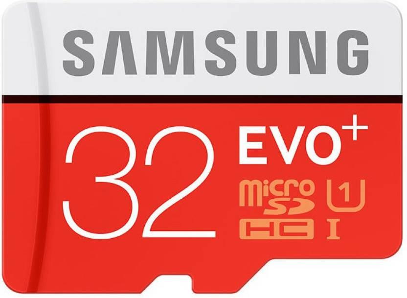 SAMSUNG Evo Plus 32 GB MicroSDHC Class 10 80 MB/s Memory Card By Flipkart @ Rs.749