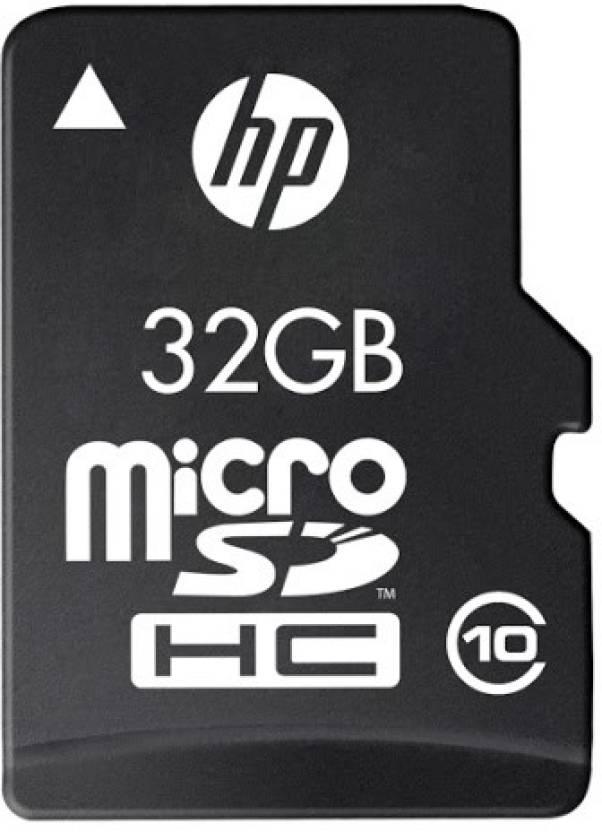 Hp 32 Gb Microsdhc Class 10 95 Mb S Memory Card Hp Flipkart Com