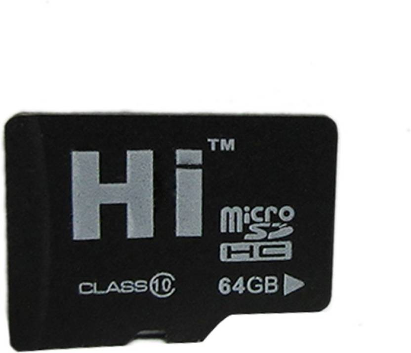 Hi 64 GB MicroSDHC Class 10 180 MB S Memory Card