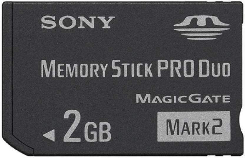 Sony 2 GB  Memory Card