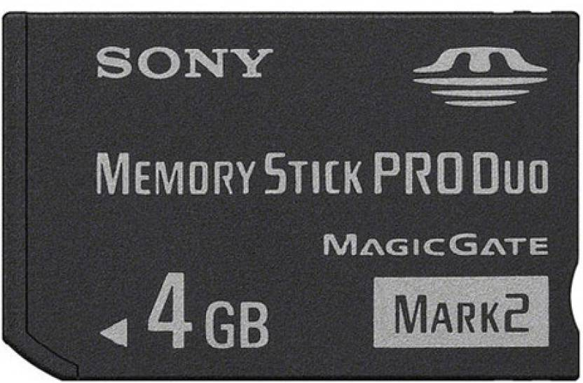 Sony 4 GB SDHC  Memory Card