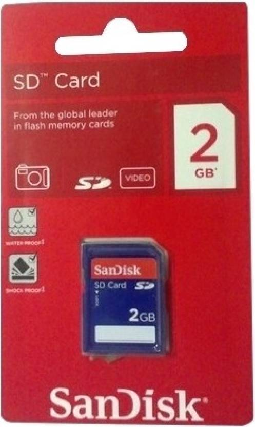 SanDisk 2 GB SDHC  Memory Card