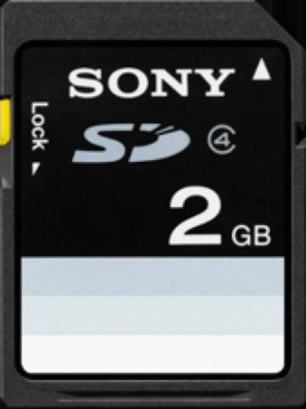 Sony 2 GB SDHC Class 4  Memory Card