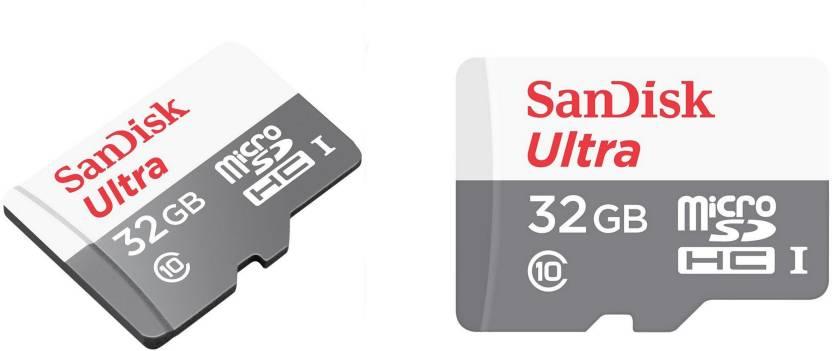 Sandisk Ultra 32 Gb Ultra Sdhc Class 10 48 Mb S Memory Card