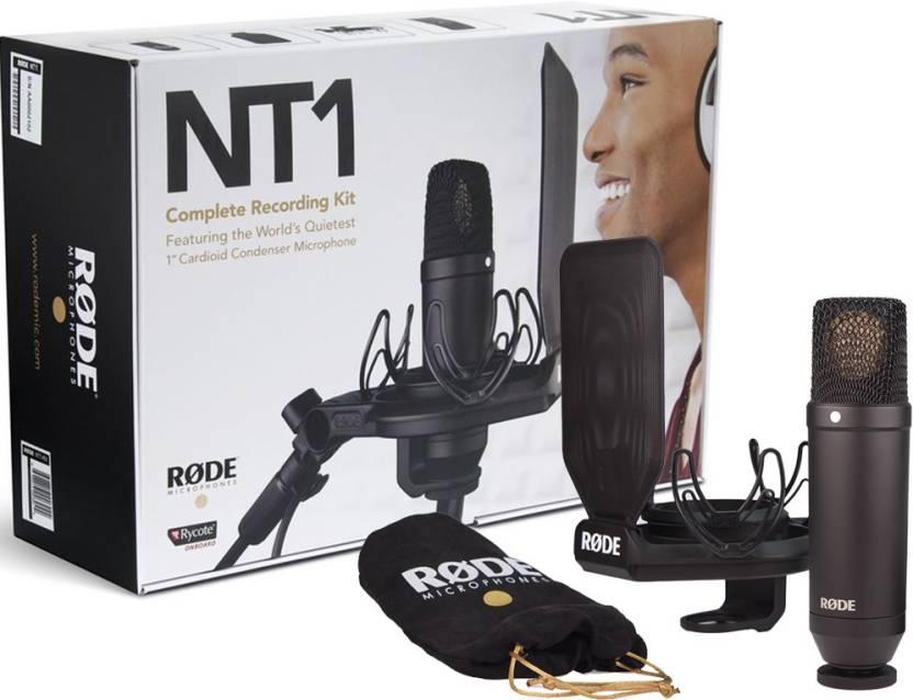 competitive price 10853 ac43c Rode NT1-Kit Recording Microphone - Rode   Flipkart.com