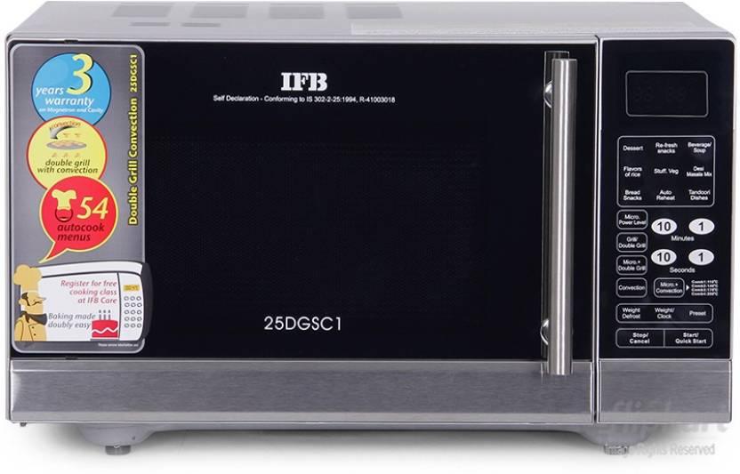 Flipkartcom Ifb 25 L Convection Microwave Oven Convection