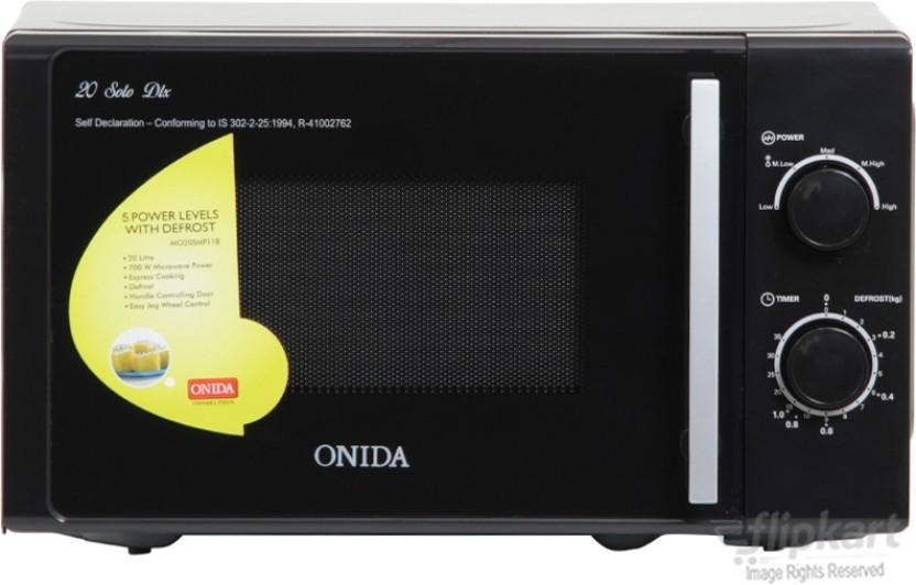 flipkart com onida 20 l solo microwave oven solo rh flipkart com Microwave Oven Fuse Location Kenmore 721 Microwave Oven Manual