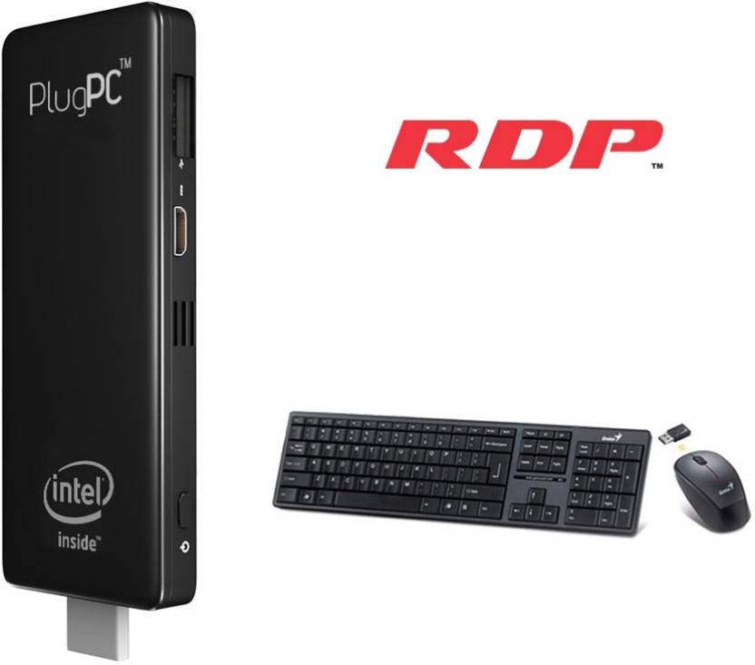 RDP Plug PC Combo - Windows 10 Home, Intel, Quad core SOC, 0
