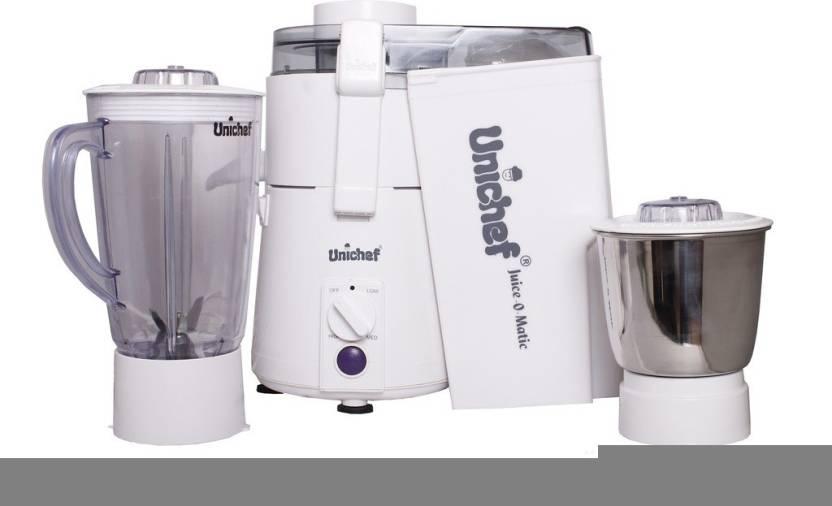 Unichef Juice-o-matic Plus XL Series 835 W Juicer Mixer Grinder