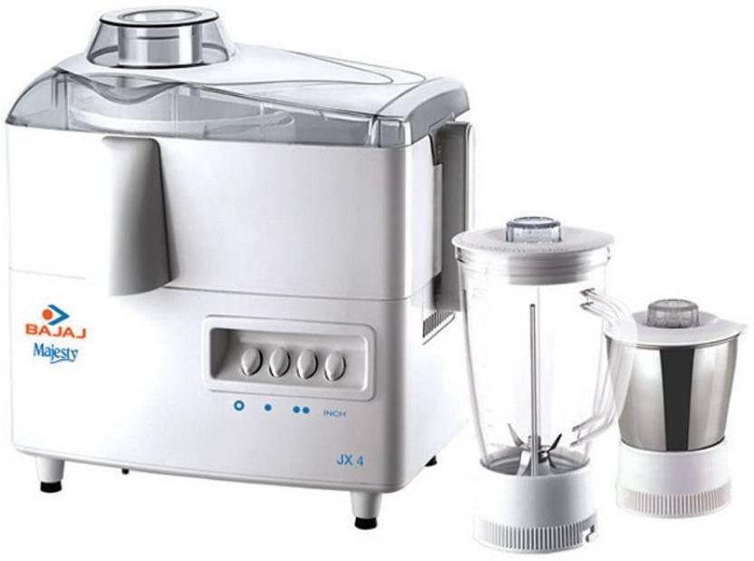 Bajaj Majesty JX 4 450 W Juicer Mixer Grinder