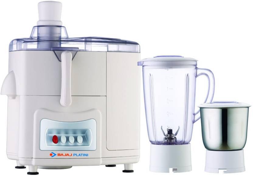 d0600ae1eee Bajaj Platini PX 68J 450 W Juicer Mixer Grinder Price in India - Buy ...