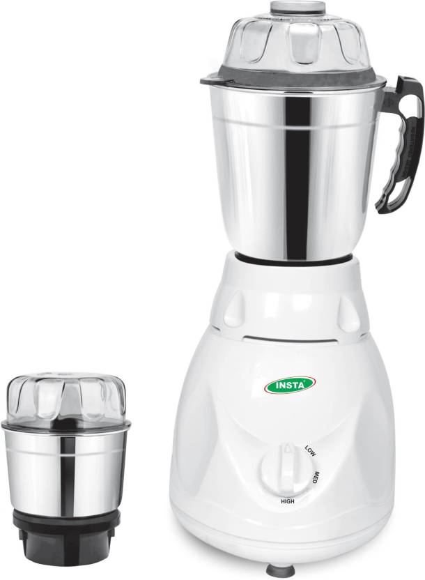 insta ovel 2 jar 350 w mixer grinder price in india buy insta ovel